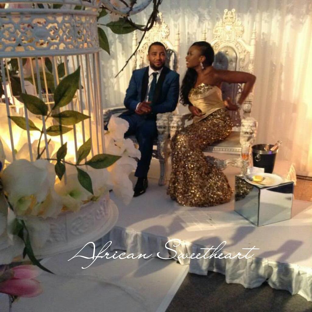 African American Wedding Ideas: Weddings: Sneak Peek Inside The Wedding Reception Of Mr