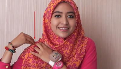 Tutorial Hijab Segi Empat Simpel