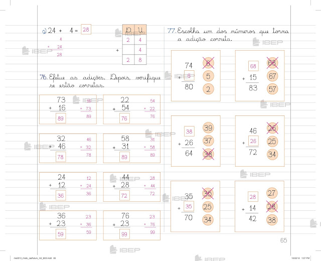 Caderno Do Futuro 2 Ano Matemática