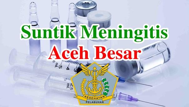 Alamat Tempat Suntik Vaksin Meningitis di Aceh Besar
