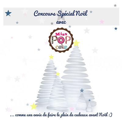 Illustration Concours Spécial Noël Miss Popcake