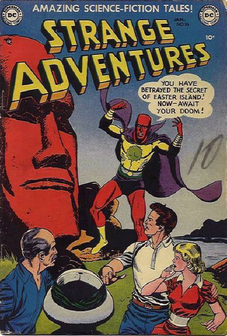 Strange Adventures (1950) issue 16 - Page 1