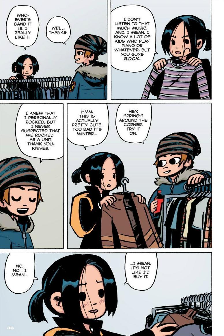Read online Scott Pilgrim comic -  Issue #1 - 30