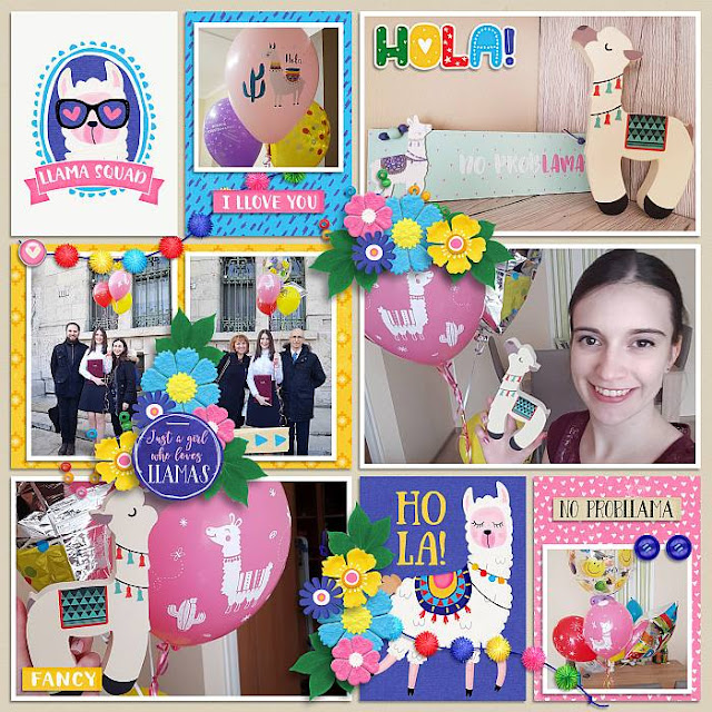 This is March collection - 50 % off and freebie