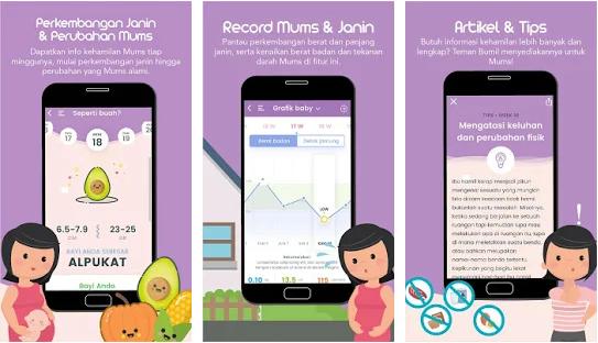 3 Aplikasi Rekomendasi Untuk Ibu yang Lagi hamil