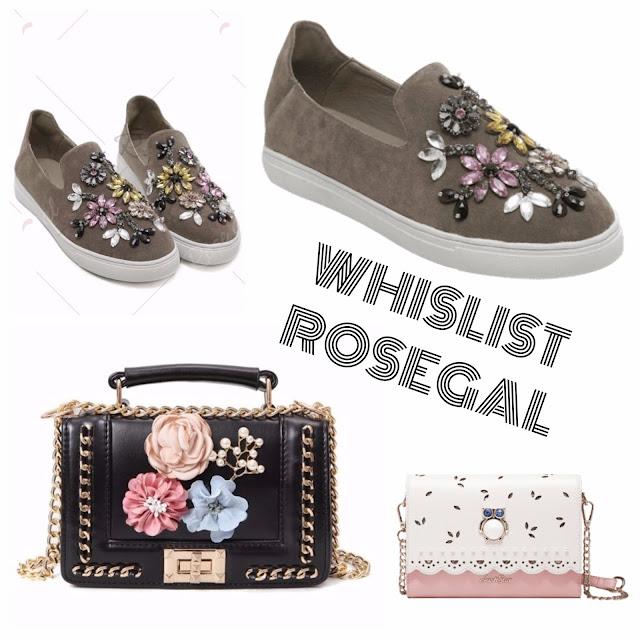 WHISLIST DE RENTRÉE ROSEGAL !