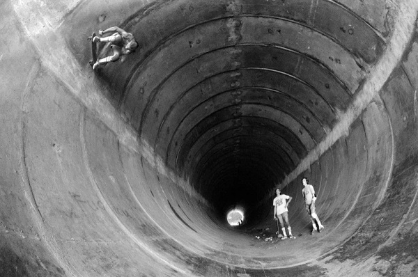 """The Big Tubullar"", CA - 1976 - foto por Hugh Holland 