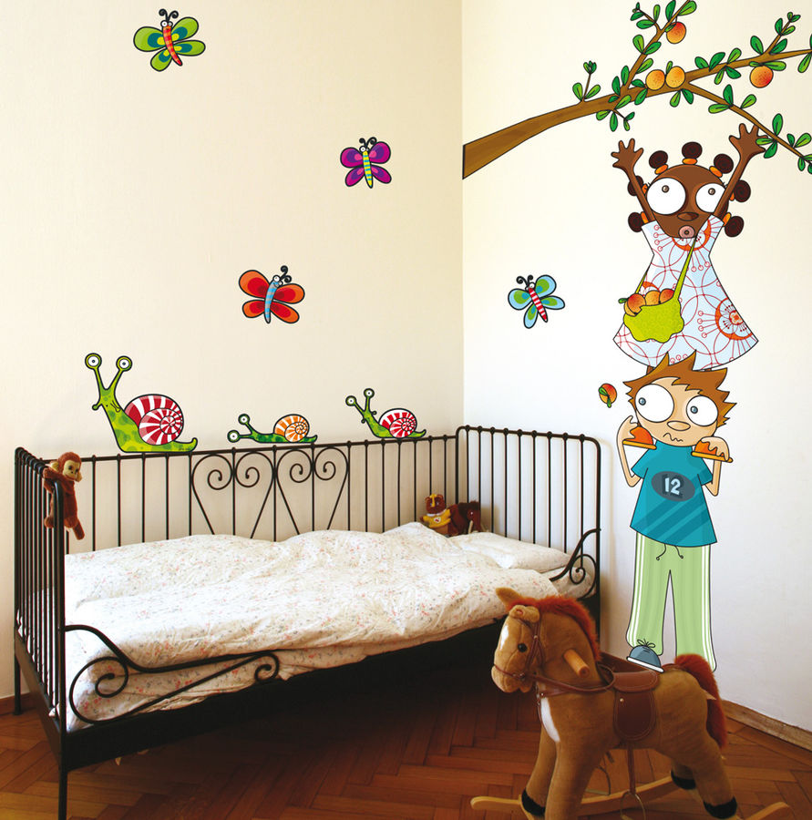 children wall decals 2017 - Grasscloth Wallpaper