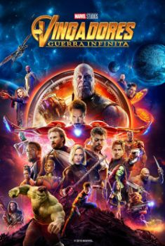 Vingadores: Guerra Infinita 3D Torrent - BluRay 1080p Dual Áudio