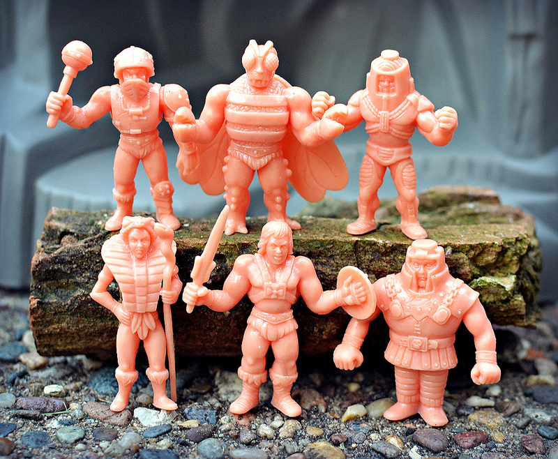 Masters of the Universe MUSCLE Mini Figure Wave 2 D-Pack