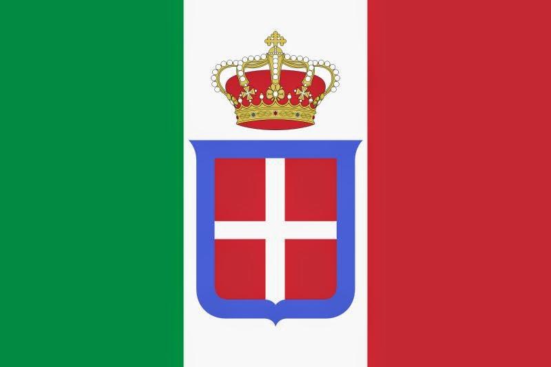 bandeira reino italia