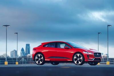 Jaguar i-Pace Concept: Electric car with over 500 km range