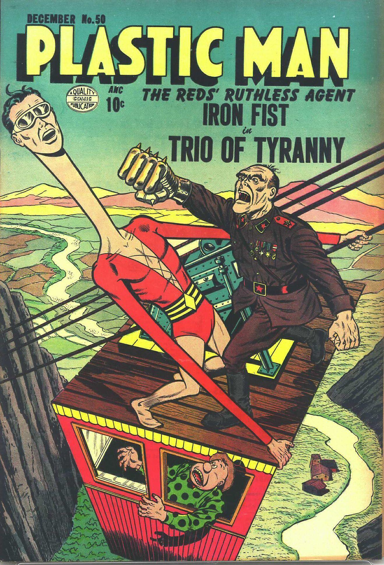 Plastic Man (1943) 50 Page 1