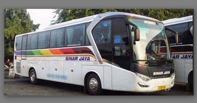Bus Sinar Jaya Sejarah Mengenal Lebih Dalam Bus Legendaris Majalah Bus