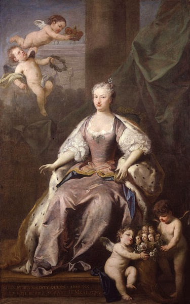 Caroline of Ansbach by Jacopo Amigoni, 1735