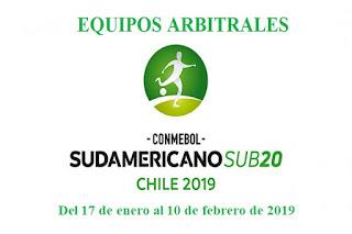 arbitros-futbol-subamericano-u20