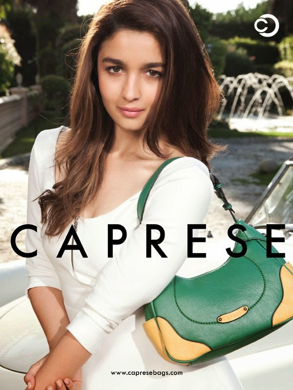 Alia Bhatt Hot Photoshoot for Caprese Bags