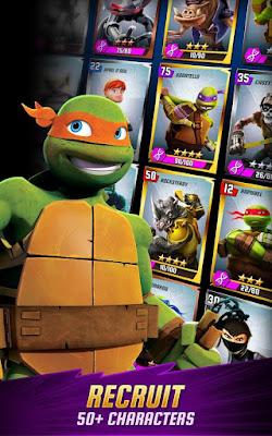 Download Ninja Turtles Legends Mod Money Apk v1.10.9 Terbaru