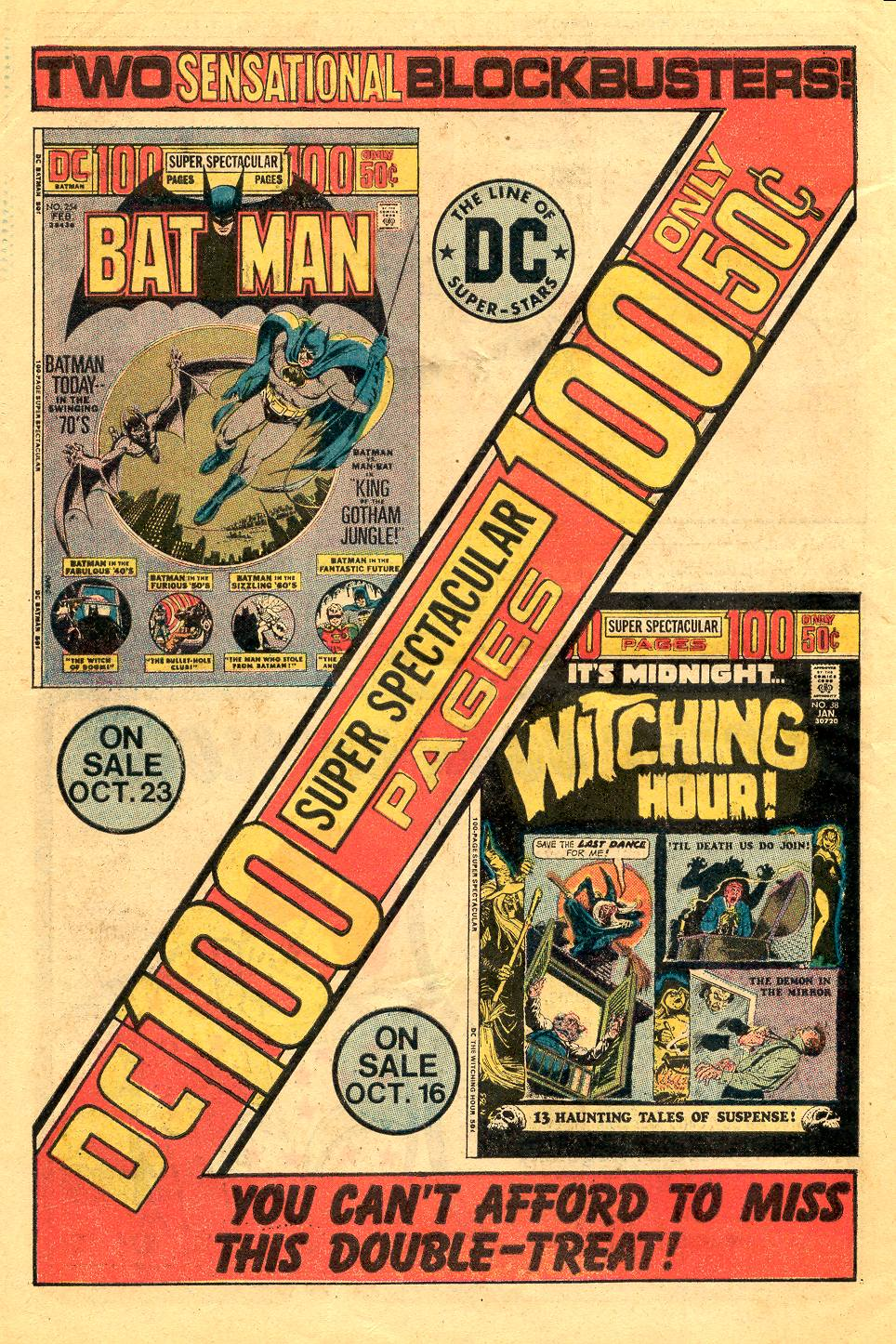 Read online Secret Origins (1973) comic -  Issue #6 - 30