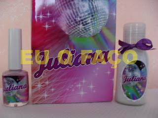 festa teen, brindes, lembrancinhas, kit manicure, tubete, esmalte, mint to be