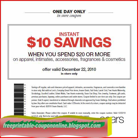 valid coupon sears oil change coupon printable promo codes printable coupons sears oilthe latest searsca coupon codes at couponfollow