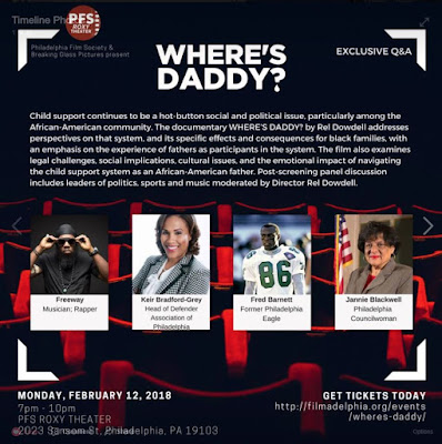 Where's Daddy Screening in Philadelphia Rel Dowdell
