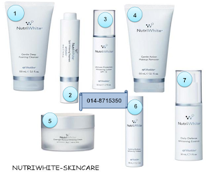 NutriWhite Shaklee; Your daily gentle skin care; the best skin care in Malaysia; natural skin care