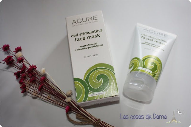 Favoritos 2015 facial mask acure organics