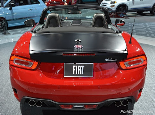 Fiat 124 Spider Elaborazione Abarth Rear