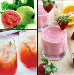 Resep cara membuat jus merah jambu yang segar