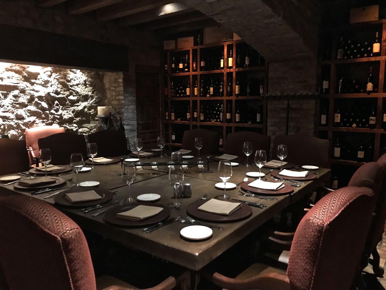 Phoenix Daily Photo The Wine Cellar Dining Room