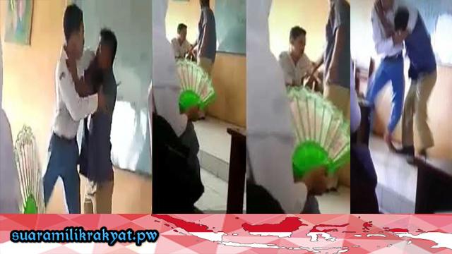 Viral Video Baku Hantam Guru dan Murid, berikut Penjelasan Pihak Sekolah dan Videonya