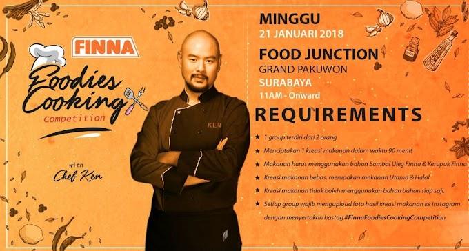 Mengolah 12 Bahan Dalam Mystery Box Di FINNA Foodies Cooking Competition