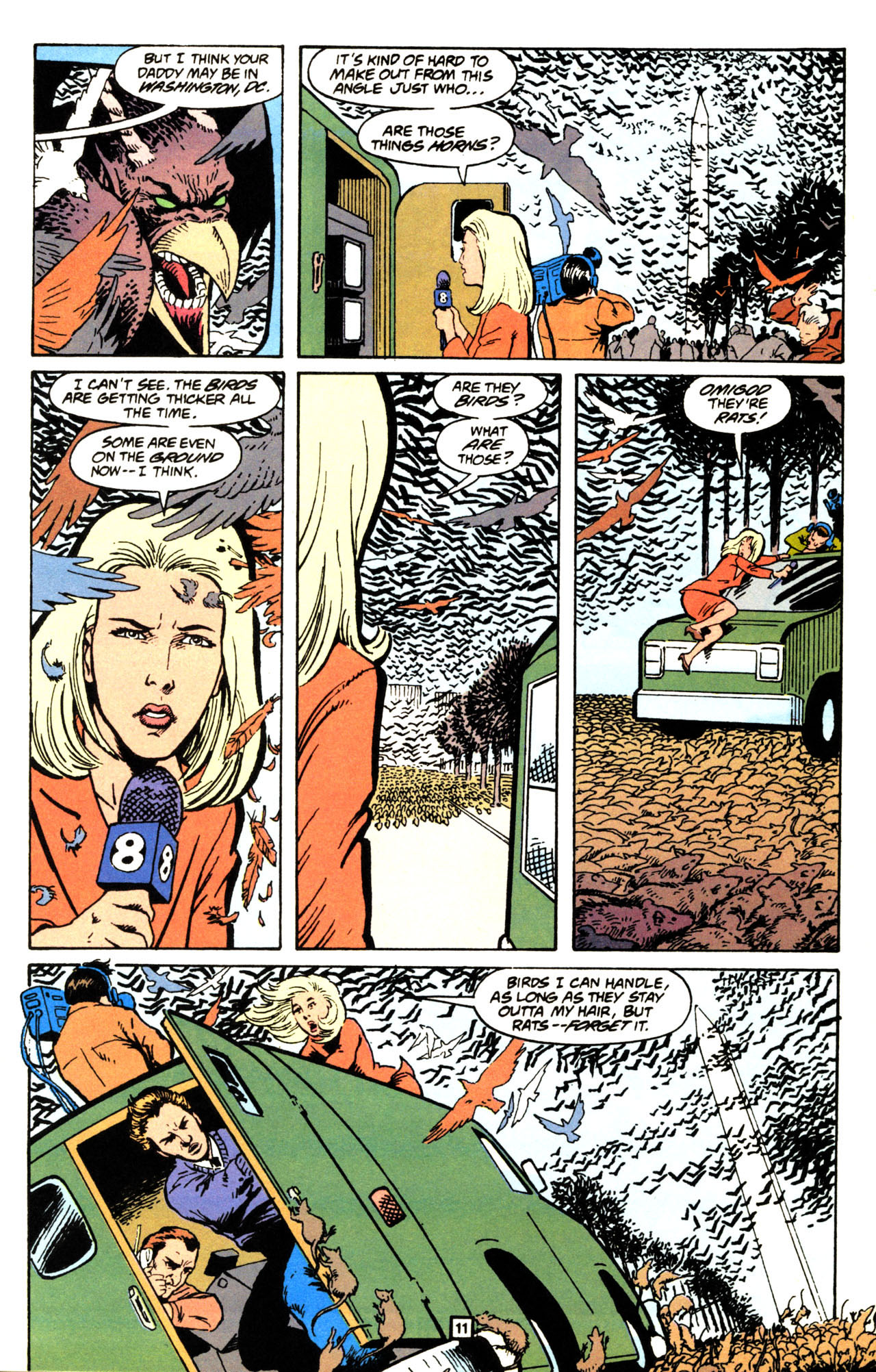 Read online Animal Man (1988) comic -  Issue #71 - 12
