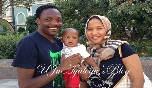 Ahmed Musa Suspends Divorce Process Against Wife
