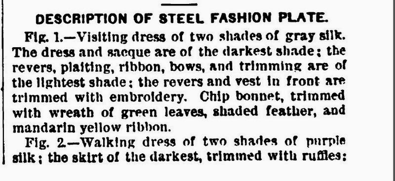 Two Nerdy History Girls: Fashions for June 1877