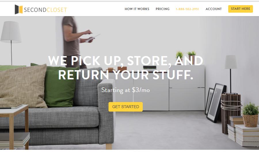 SecondCloset full-service storage facility