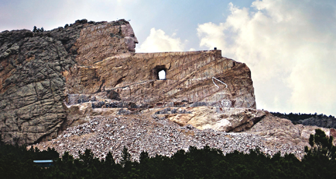crazy horse memorial south dakota 2007