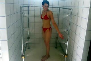 "Циркулярный душ. Санаторий ""Сибирь"", курорт Белокуриха."