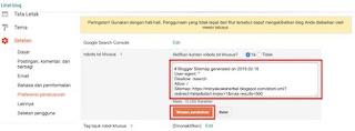 Submit Sitemap Blogspot Di Google Webmaster Tool