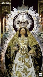 Resultado de imagen de Procesión de la Esperanza Divina Enfermera - Sevilla 2017