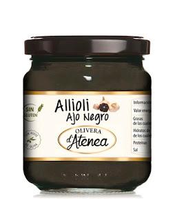 Allioli de ajo negro Olivera d'Atenea