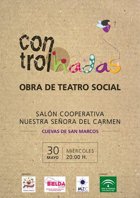 """Teatro """"Controlhadas"""" en Cuevas de San Marcos"""