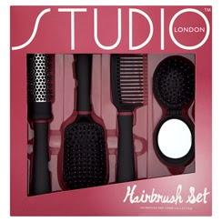 Studio London Hairbrush & Comb Set