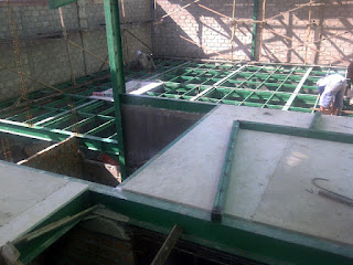Lantai panel fibersemen
