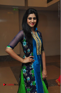 Actress Model Shamili Sounderajan Pos in Desginer Long Dress at Khwaaish Designer Exhibition Curtain Raiser  0021.JPG