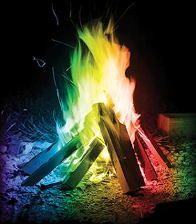 Un Feu avec Mystical Fire