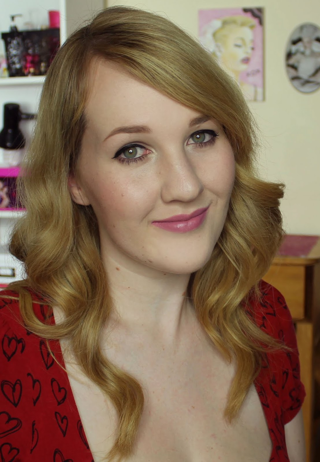 Jordana Lipsticks - Matte Lavender Lady Swatches & Review