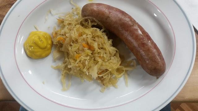Albion Polish Club, Albion, sausage