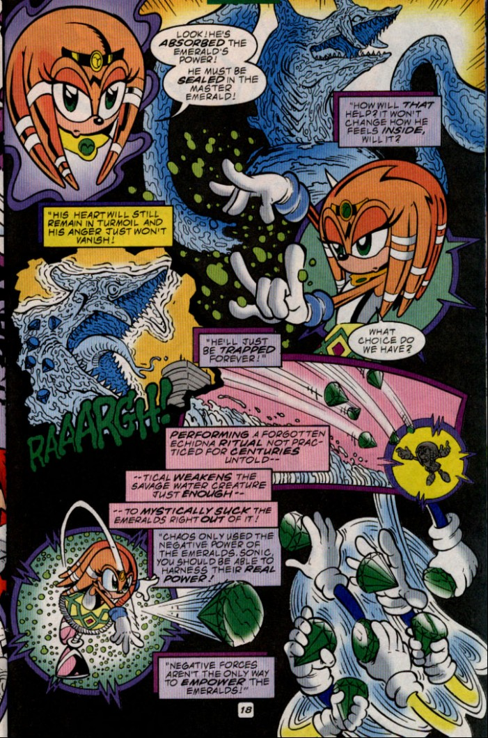Read online Sonic The Hedgehog comic -  Issue #83 - 19